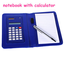 Notebook Calculator With Ball Pen For Students