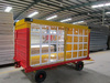 Airport Covered Luggage Trolley for Luggage and Bulk Cargo