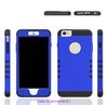 Factory wholesale Super armor case Multi Layered Protective Hybrid Silicone Plastic Case for iphone 6Plus / 6s plus