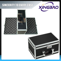 Gun case design,aluminum abs gun box with EVA and Foam inner,shotgun gun case