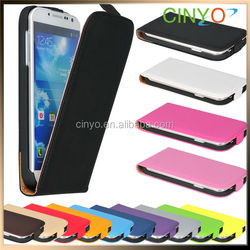 for samsung galaxy s4 mini leather case, flip case, leather cover