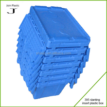 Wholesale stack nest plastic swing bar plastic containers