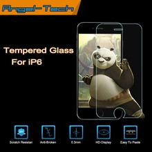 0.3mm/0.4mm Tempered glass screen protector for iPhone 6