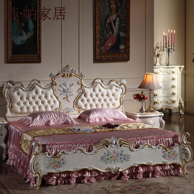 italian french antique furniture bedroom set hand carved