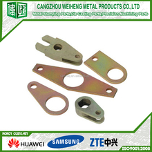 Stainless Steel metal bookends Metal Stamping Parts for Boat Components , Starboard Plate