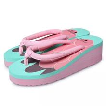 2015 woman shoe rubber slipper flip flops woman slipper