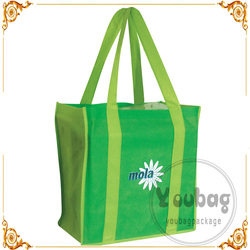 Cheap advertising tote promotional shopping bag non woven for wholesales