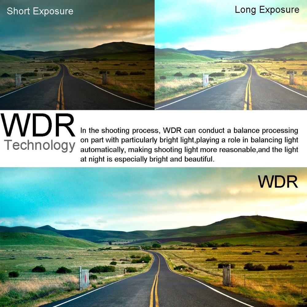 Maravilhoso design exclusivo 2016 1080 p carro traço cam com WiFi