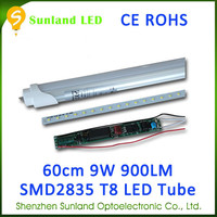 Widely used pure white AC85-265V 48pcs SMD2835 CE ROHS 2x36w fluorescent light fittin...