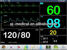 Multi-function Long service life 12.1 inch Touch Screen Multi-parameter Patient Monitor for Medical Electronic Devices
