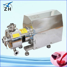 asphalt emulsify equipment cosmetics homogenizing and emulsifying machine high capacity vacuum homogenizing emulsifier