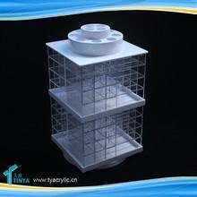 Aluminum Storage Box Beauty Organizers Plastic Clear Box