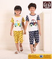 (AG045)2-6Y The new design comfortable clothes sets imported childrens clothing