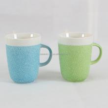 Wholesale Office World's Best Boss TV Television Show Ceramic Gift Embossed Coffee Mug Hot Tea Mug Cold Drinking Cocoa Mug