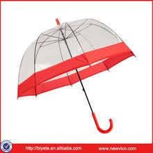 Fashion PVC Material Transparent Promotional Umbrella