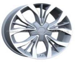17 18 pulgadas llantas de coche 5x114.3 piezas de plata toyota llantas ruedas llantas de aleación para el coche