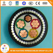 Professional Manufacturer steel wire armoured PVC insulated power cable