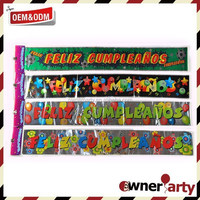 Different Designs And High Quality Of Foil Banner