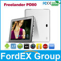 "9.7 ""Freelander PD80 Allwinner A31 Quad core tablet pc android 4.1 IPS 2GB ROM del RAM 16GB de doble cámara OTG WIFI HDMI"
