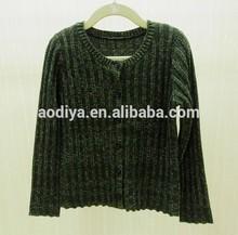 géneros de punto de moda para niños suéter cardigan y balck color dorado 6-14 años de edad europea tamaño de oem de fábrica