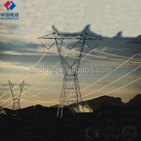 110KV power transmission electrical steel pole