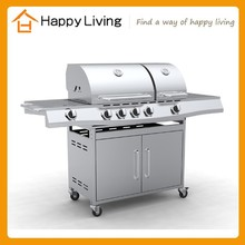 6 burners stainless steel greece grill gas Barbecue Gaz