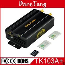 12~24V dual sim card TK103A+ engine stop vehicle gps tracker