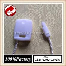 quality string seal tag, hang tag string, garment plastic seal tag/ white string seal names string instruments