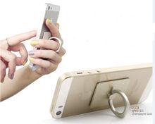 Promotional Gift Decorative Cute Mobile Non Slip Finger Ring Holder For Mobile phones