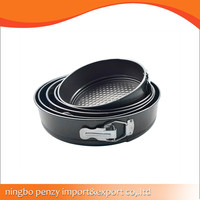 carbon steel Round cake mould/spring form
