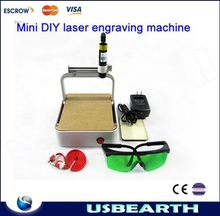 DIY mini laser engraving machine with USB port interface for making mobile phone shell 250MW mini laser engraver,