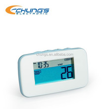 3D motion sensor walking pedometer with calorie counter