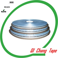 China PE liner antistatic double sided glue re-sealing PP clothes and toy bags double side adhesive tape