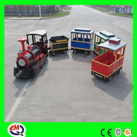 outdoor large amusement park electric trackless train