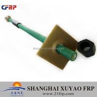 FRP Self-drilling hollow rock bolt