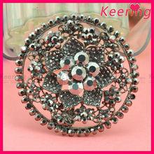 fashion wholesale beads assorted round shape garment pin brooch WBR-1445