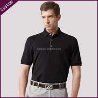 chinese clothing companies men's polyester polo shirts short sleeves dry fit polo