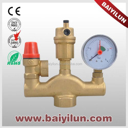 Automatic Brass Water Heater Safety Valve