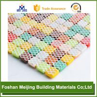 white polyester mesh tank top for paving mosaic