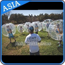 2015 Best PVC/TPU bubble football,hot sale popular inflatable bumper ball for kids