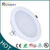 SMD led ceiling downlight 6inch 18w high Ra round recessed led Downlight ce lvd