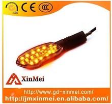 Motorcycle LED Turn Singal Flash Light Indicator Lighting Lamp with 3 in 1 Daytime Running Tail Light