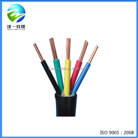 PVC Insulated PVC Sheathed Flexible Electrical / Power Cables