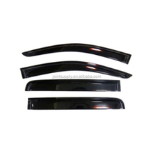 JT-V0402-1 smoke original 1.4mm window visor/vent shade/rain sun wind deflector Fit for Ford Ranger 2012+