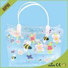 Promocional pvc saco de cosmética privado bonito claro mulheres cosméticos saco de plástico