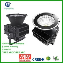 High quality CREE 150W 200W 300W 500W led high bay light for Gas Station & factory