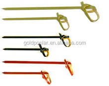 Colored Knotted Bamboo Skewers