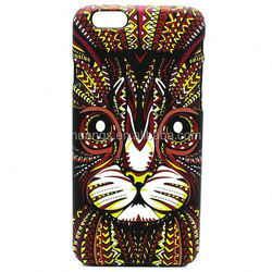 New Style Animals Luminous Oil Spray Printing Hard PC Case Mobile phone Case for iPhone 6 plus