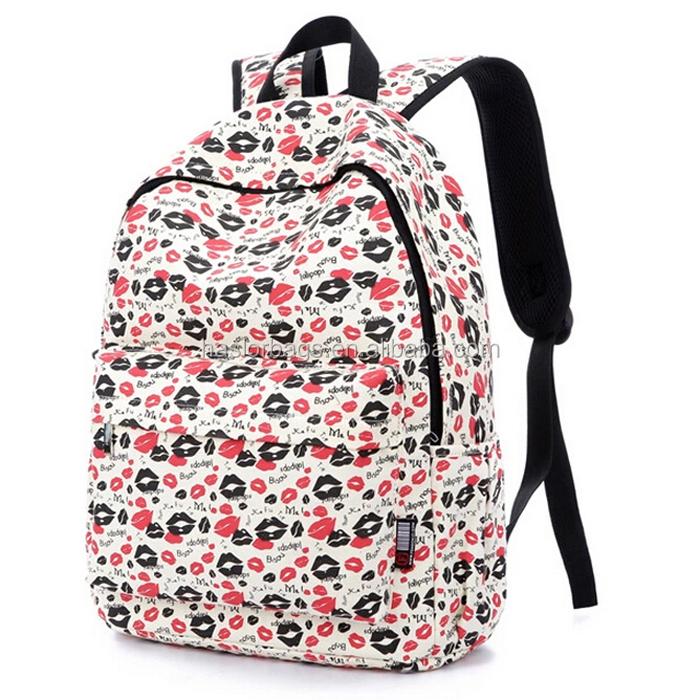 Adolescente dernière mode sacs d'école pour filles