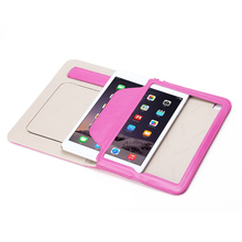lovely girl case for ipad mini 4 printing leather smart case